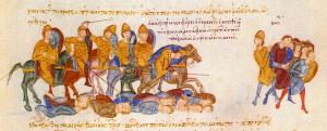 Ο Νικηφόρος Ουρανός αντιμετωπίζει τους Βούλγαρους στον Σπερχειό