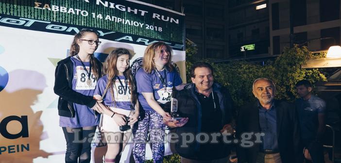 Lamia Night & Run 2018. Πρωτιά και κύπελλο για τρίτη συνεχή χρονιά για το 3ο Γυμνάσιο Λαμίας